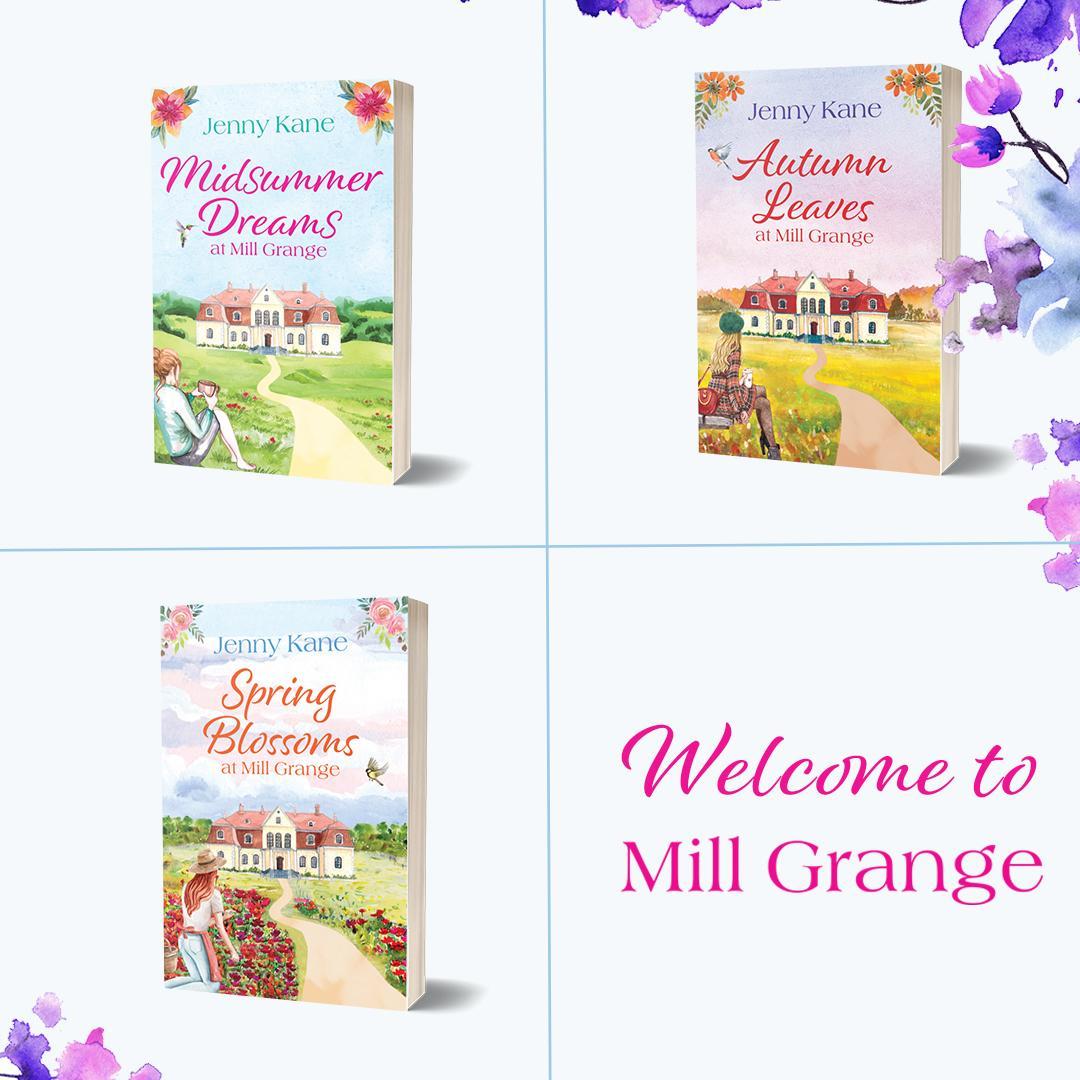 Cover reveal poster - Mill Grange