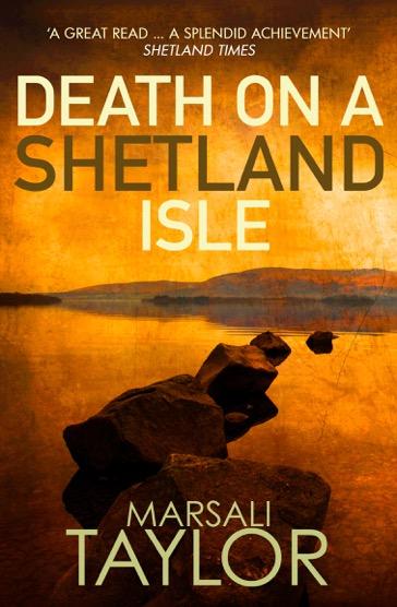 death on a shetland isle mock copy